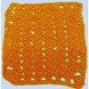 Diagonal Cluster Crocheted Dishcloth Instructions (free)
