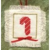 Candy Cane Christmas Ornament Kit