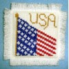 Flag Cross Stitch Pattern