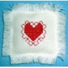Lacy Heart Cross Stitch Pattern